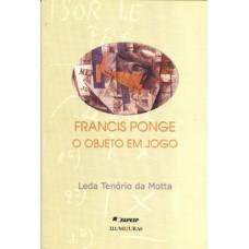 Francis Ponge, o objeto em